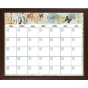 PTM Images Banbury Memo Wall Mounted Calendar/Planner Glass Board, 2' x 2'