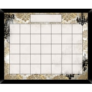 PTM Images Chandelier Wall Mounted Calendar/Planner Whiteboard, 2' H x 2' W