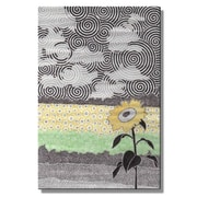 All My Walls 'Flowers of The Sun' by Art By Nemo Graphic Art Plaque
