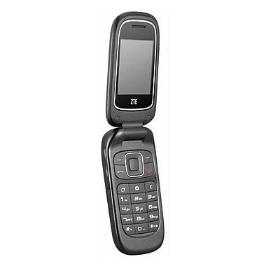 ZTE (Z222) Factory Unlocked Flip Phone, Blue, Refurbished, English