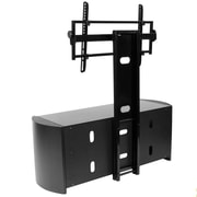 Kanto OASIS 50 PLUS TV Stand with Mount; Black Matte