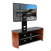 Kanto OASIS 50 PLUS TV Stand with Mount; English Chestnut