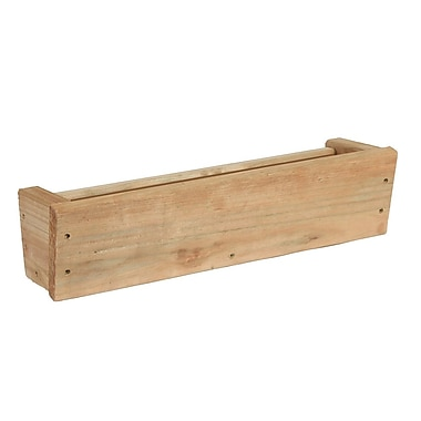 Playstar Wood Window Box Planter