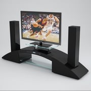 CREATIVE FURNITURE Neo TV Stand; Black