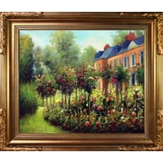 Tori Home The Garden at Fontenay by Renoir Framed Hand Painted Oil on Canvas