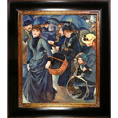Tori Home The Umbrellas by Pierre-Auguste Renoir Framed Original Painting
