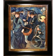 Tori Home The Umbrellas by Renoir Framed Hand Painted Oil on Canvas