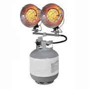 Dyna-Glo 15,000 BTU Portable Propane Radiant Tank Top Heater w/ Tip Over Safety Switch