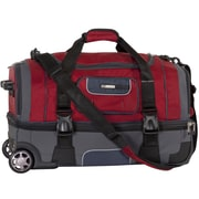 CalPak Nitro 26'' 2-Wheeled Travel Duffel; Deep Red