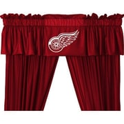 Sports Coverage NHL Detroit Red Wings 88'' Curtain Valance