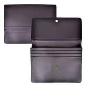Royce Leather Genuine Leather Executive File Organizer Portfolio; Black