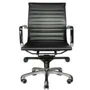 Wobi Office Robin Low-Back Chair; Black