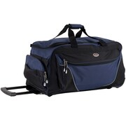CalPak 29'' 2-Wheeled Carry-On Duffel; Navy Blue