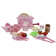Berry Toys 27 Piece Complete Healthy Breakfast Wooden Play Food Set