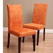 Warehouse of Tiffany Tiffany Shino Parsons Chair (Set of 2); Orange