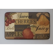 Chef Gear Cushioned Scrumptious Fruit Chef Mat