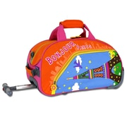 J World Paris Kid's Rolling Duffel