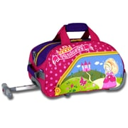 J World Princess Kid's Rolling Duffel