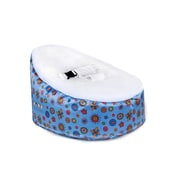 Totlings  Snugglish Bean Bag Chair; Blue / White
