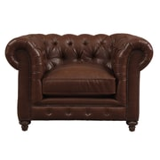 TOV Durango Leather Arm Chair
