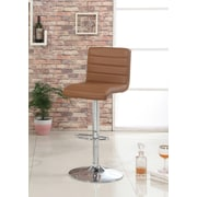 Hokku Designs Felicity Adjustable Height Swivel Bar Stool; Camel