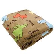 Park B Smith Ltd PB Paws Pet Dog Show Super Soft Polyester Fleece Throw