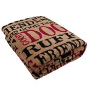Park B Smith Ltd PB Paws Pet Good Dog Super Soft Polyester Fleece Throw