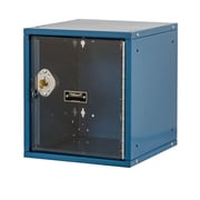 Hallowell Cubix 1 Tier 1 Wide Modular Locker; Marine Blue