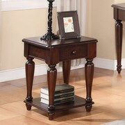Winners Only, Inc. Regal End Table; Molasses