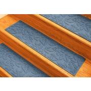 Bungalow Flooring Aqua Shield Bluestone Fall Day Stair Tread (Set of 4)