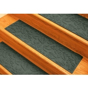 Bungalow Flooring Aqua Shield Evergreen Fall Day Stair Tread (Set of 4)