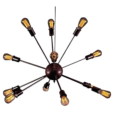 Warehouse of Tiffany Wyatt 12-Light Sputnik Chandelier WYF078277179015