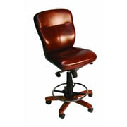 Hooker Furniture Leather Tall Tilt Swivel Chair