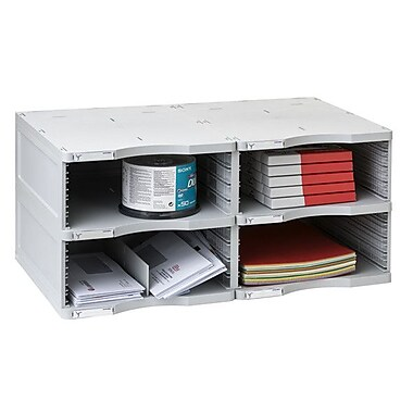 Paperflow 2000 ArchivoDoc Duo Jumbo Literature and Forms Sorting Station w/ 4 Compartments