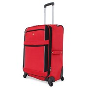 Wenger Swiss Gear 24'' Spinner Suitcase; Red/Black