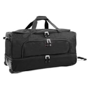 J World Piton 30'' 2 Wheeled Duffel; Black