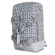 J World Duncan 13'' Travel Duffel; Chrome