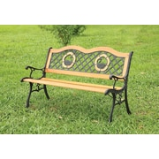 Hokku Designs Trumpeter Outdoor Garden Bench