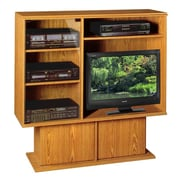 Rush Furniture Americus TV Stand; Oak