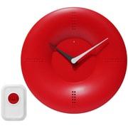 Infinity Instruments 10'' Doorbell Wall Clock; Red