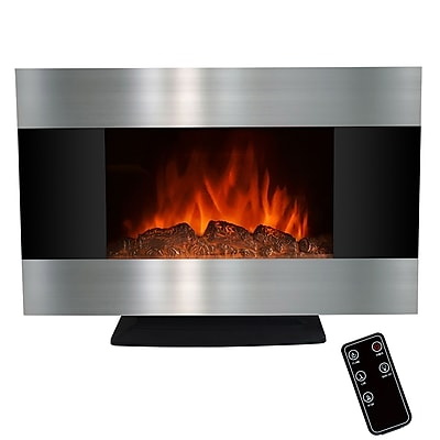 pare AKDY 20 Electric Fireplace Heat Tempered Glass
