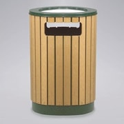 Rubbermaid Commercial Products 40-Gal Regent 50 Series Round Sand Top Ash/Trash Receptacle