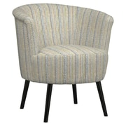 Handy Living Marysa Barrel Chair; Blue