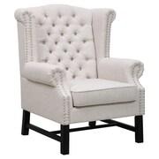 TOV Fairfield Arm Chair; Beige