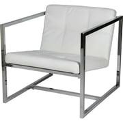 Whiteline Imports Lisa Arm Chair; White