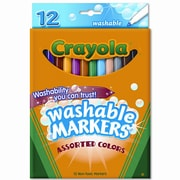 Crayola Washable Fine Point Markers (12/Set)