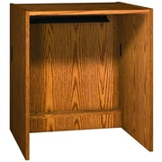 Ironwood Glacier 39'' H x 36'' W Book Return; Dixie Oak