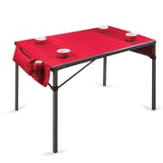 Picnic Time Travel Table; Red