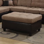 Wildon Home   Ottoman; Tan
