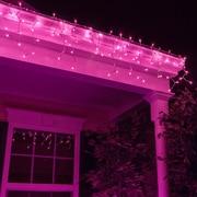 Kringle Traditions Mini Icicle Light; Purple